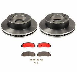 Brembo Front Brake Kit Ceramic Pads And Disc Rotors For Ford F 250 F 350 Sd 4wd