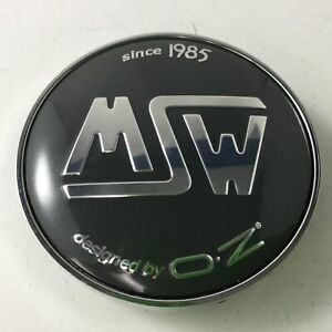 Msw By Oz Wheel Gray Center Cap X080 C 080 2 3 8 Dia