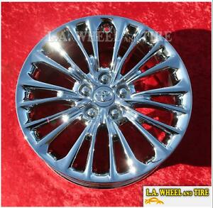 Exchange Set Of 4 Chrome Wheels For Toyota Avalon Camry Oem 18 75233