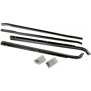 Precision Parts New Kit Door Molding And Beltlines Front Rear Driver Passenger