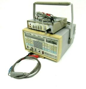 Used Sencore Lc102 Capacitor Inductive Analyzer With Scr250 Tester