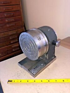 Harig Ab 5c Spin Indexer Eclipse Magnetic Lathe Chuck