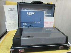 Vintage rare Travelfax 71000 Fax Machine In Case all Accessories never Used