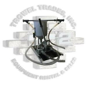 Grout Pump Kenrich Products Gp 7 Hand Operated Grout Pump Twin Diaphragm Pump