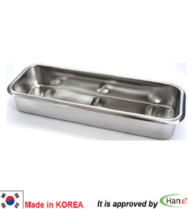 Dental Stainless Steel Medical Surgical Tray Dish Lab Instrument Tool Case Store
