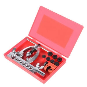 Tubing Car Truck Tool With Mini Pipe Cutter Double Flaring Brake Line Tool Kit