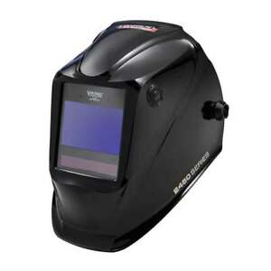 Lincoln Electric Viking 2450 Black Auto Darkening Welding Helmet With 4c Lens