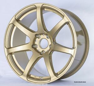 Vector Pro 18x9 5 38 5x114 3 73 Gold 1 Wheel