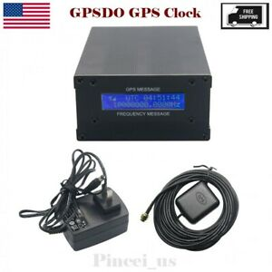 Gpsdo Gps Clock 10m Sine Wave Lcd Frequency Message Gps Disciplined Oscillator