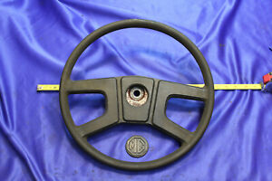 Mg Mgb 77 80 Complete Original Steering Wheel Assembly