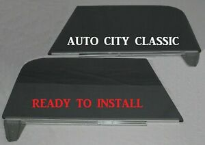 Chevy Pickup Truck Door Glass In Lower Channel 1967 1968 1969 1970 1971 1972 Pr