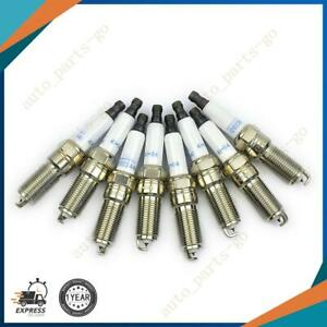 8 Pcs Ac Delco Iridium Spark Plugs 41 114 12622441 For Cadillac Chevrolet Gmc