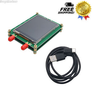 137 5 4400m Rf Signal Generator W touch Screen Spot Frequency Sweep For Pc