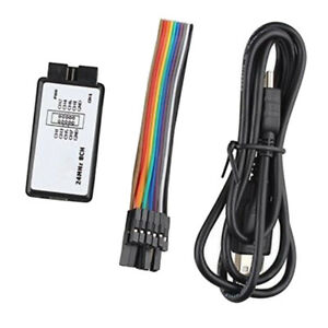Abs Plastic Logic Analyzer Oscilloscope Device W Usb Cable Dupont Cable
