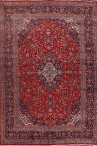 10 X14 Large Floral Ardakan Hand Made Area Rug Wool Oriental Traditional Carpet