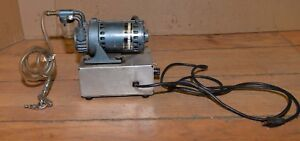 Gast Rotary Vacuum Pump Vintage Airbrushing Industrial Tool Collectible Mechanic