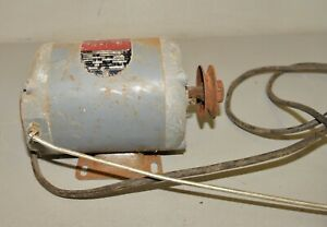 Vintage Delta Rockwell 1 3 Hp 1725 Rpm Reversible Lathe Saw Drill Press Motor