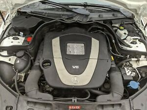 2009 Mercedes Benz C300 Awd 4matic Engine 272 204 Chassis