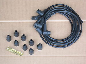 Ignition Wire Set For Ford 6000 Commander