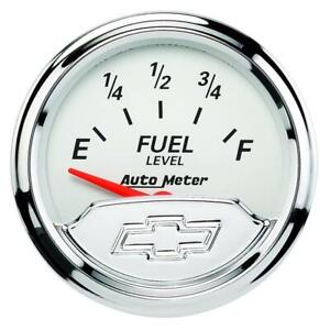 Auto Meter Fuel Level Gauge 1317 00408 Chevy Vintage 2 1 16 Electrical
