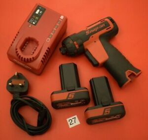 Snap On Tools Nearly New 14 4v 1 4 Hex Microlithium Cordless Screwdriver 27