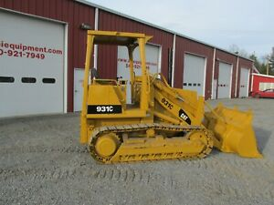 1990 Caterpillar 931c Crawler Track Loader 7500 Hours Loader Bucket Power Shift