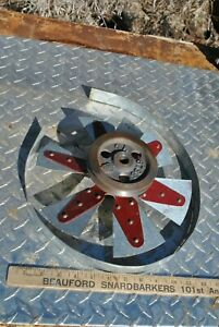 Ihc International Famous Air Cooled Vertical Hit Miss Gas Engine Fan Assembly