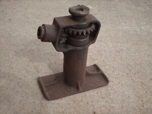Vintage Walker Screw Jack Old Antique Ford Chevy Rat Rod Antique Car Truck Parts