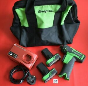 Snap On Tools 14 4v 1 4 Hex Microlithium Cordless Screwdriver Great Cond 81