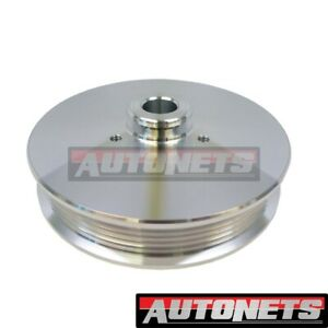 79 93 Ford 302 Mustang 5 0l Power Steering Pulley Serpentine Billet Aluminum Cnc
