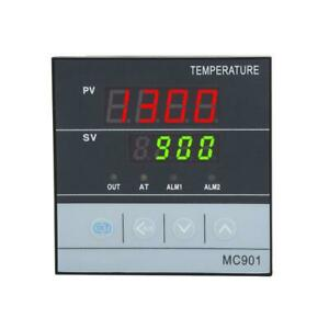 Pid Digital Temperature Controller Pt100 With K Thermocouple Relay Ssr Output