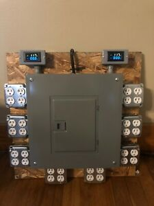 100 amp Power Distribution Panel For Jobsite theater made To Order