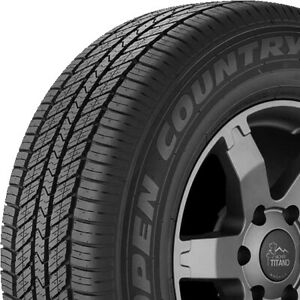 4 New Toyo Open Country A30 265 65r17 110s A s All Season Tires