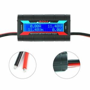 200a Watt Meter Accurate Power Analyser Digital Lcd Display Volt Amp Solar