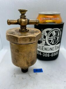 Penberthy Silex No 2 Automatic T handle Brass Grease Cup Hit Miss 3 8 Vintage