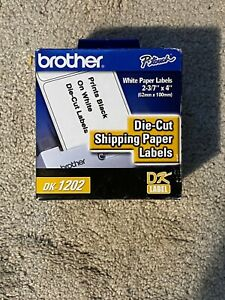 Brother Dk 1202 Paper Shipping Label Roll Retail Packaging