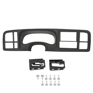 Double Din Truck Dash Kit For 1999 2002 Silverado Sierra Gm Full Size