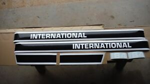 International Cub Lo Boy 184 Hood Decals See Details And Pictures
