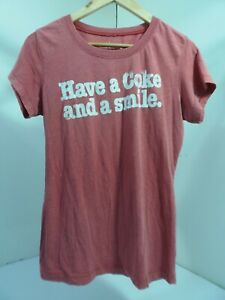 Vintage Coca Cola T-Shirt Have A Coke And A Smile
