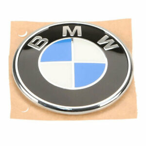 Genuine New Emblem Roundel For Trunk Lid For Bmw E46 330ci 325ci M3