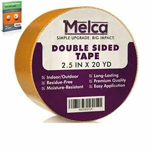 Melca Double Sided Gripper Tape Rug carpet 2 5 Inch 20 Yards