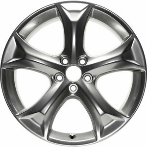 New 20 X 7 5 Hyper Silver Replacement Wheel Rim For 2009 2016 Toyota Venza