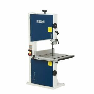 Rikon Power Tools 10 305 10 inch 110 Volt 0 33 Horsepower Bandsaw With Fence