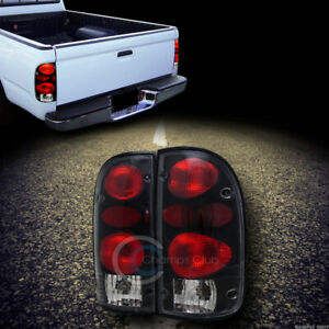 Euro Black Altezza Tail Lights Lamps For 1995 2000 Toyota Tacoma Pickup Truck