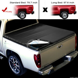 Snap On Soft Tonneau Cover For 07 16 Toyota Tundra Fleetside 6 5 78 Truck Bed