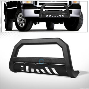 Fit 05 07 Ford F250 F350 Superduty Textured Blk Avt Bull Bar Bumper Grille Guard