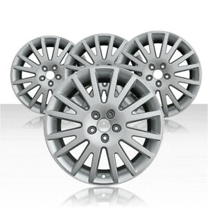 Revolve 17x7 5 Silver Wheel For 2005 2010 Audi A6 Set Of 4