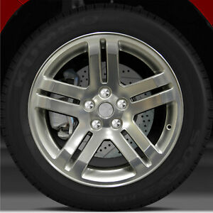 18x7 5 Factory Wheel sparkle Silver Polish For 2006 2007 Dodge Charger