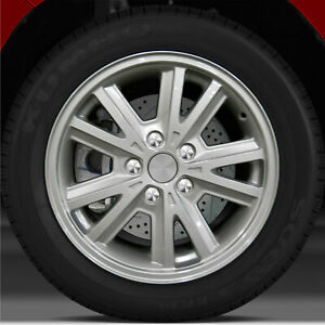 16x7 Factory Wheel Sparkle Silver Full Face For 2004 2009 Ford Mustang