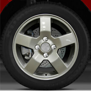 15x6 Factory Wheel Sparkle Silver For 2006 2008 Chevy Aveo